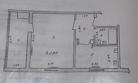 Купить 1-комнатную квартиру 46 м²  на Дархане в Ташкенте